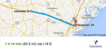 I-16_Map