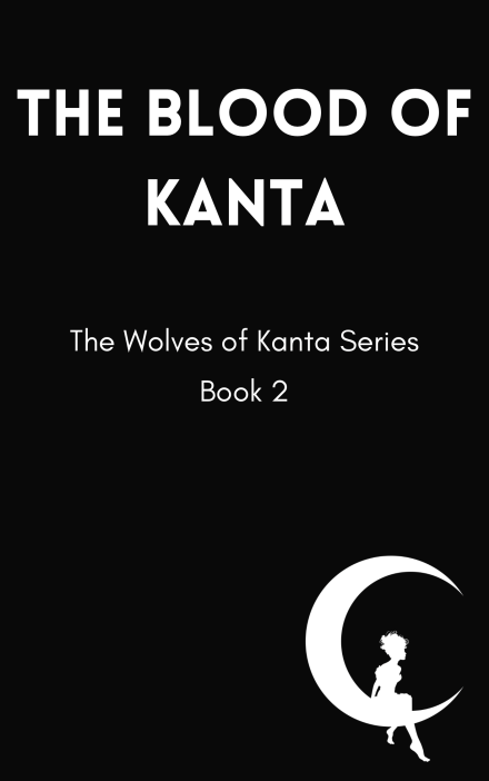 Temporary cover for The Blood of Kanta, scheduled for release in 2022.